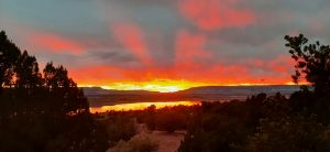 Amazing Sunset at Lake Abiquiu, NM